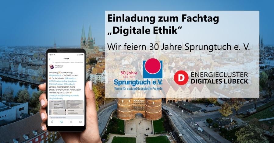 """Besuchen Sie uns beim Fachtag """"Digitale Ethik"""" am 19. September"""