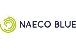 Mitglied Energiecluster Lübeck Naeco Blue logo