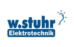 Mitgliec Energiecluster Lübeck wstuhr Elektrotechnik Logo